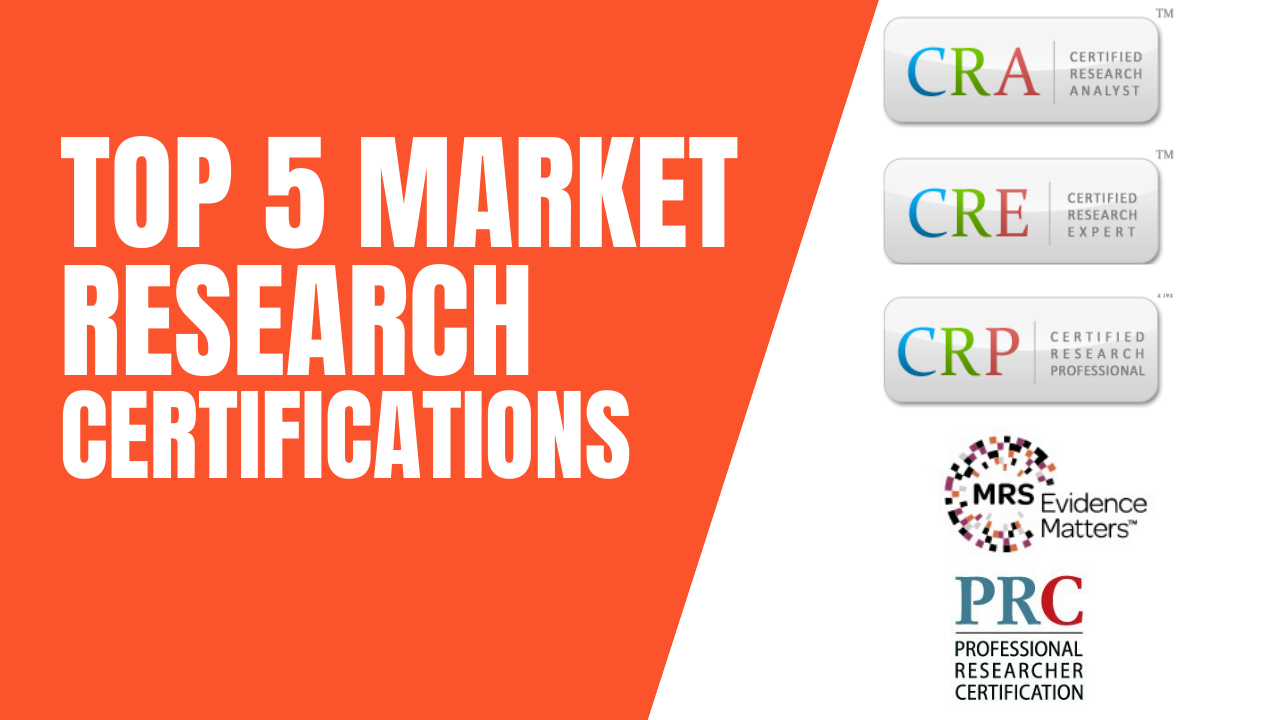 Best Market Research Courses